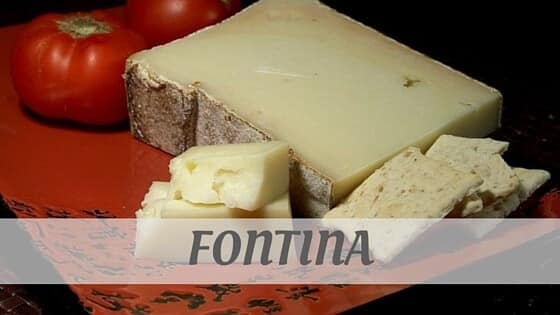 How Do You Pronounce Fontina?