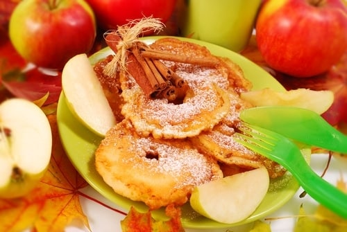 fritelle di mele