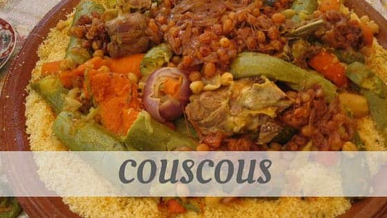 How To Say Couscous?