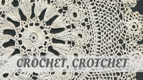 How To Say Crochet