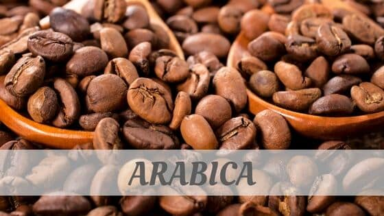 How To Say Arabica?