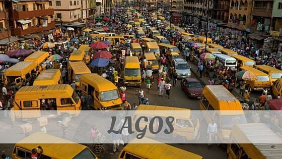 How To Say Lagos