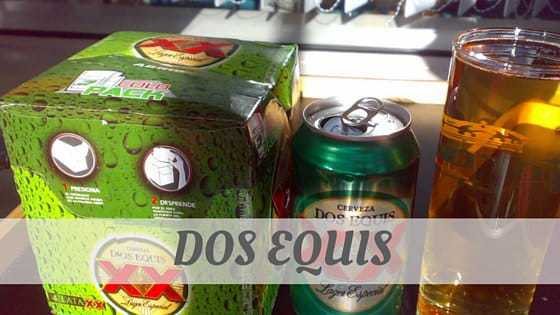 How To Say Dos Equis?