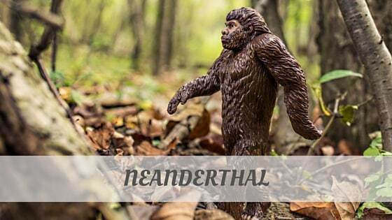 How To Say Neanderthal
