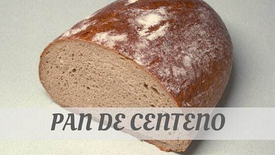 How Do You Pronounce Pan De Centeno?