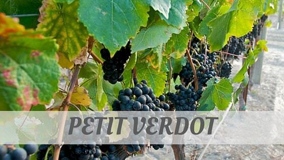 How To Say Petit Verdot