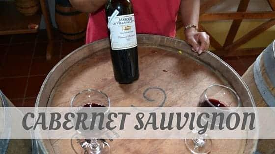 How To Say Cabernet Sauvignon