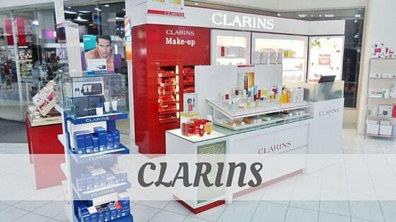 How To Say Clarins