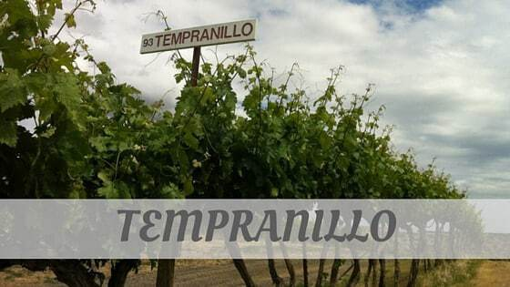 How Do You Pronounce Tempranillo?