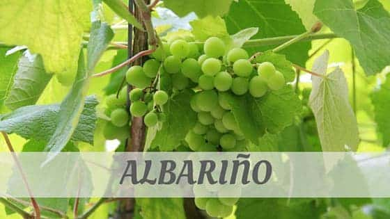 How To Say Albariño?