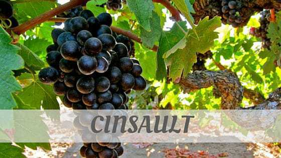 How To Say Cinsault