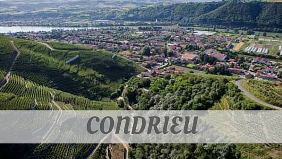 How To Say Condrieu?