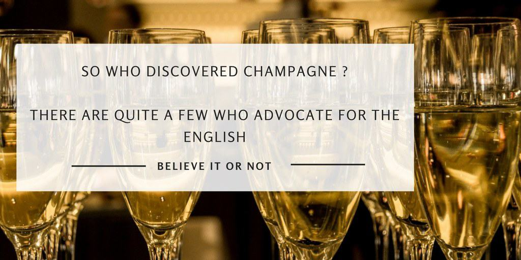 Who Discovered Champagne