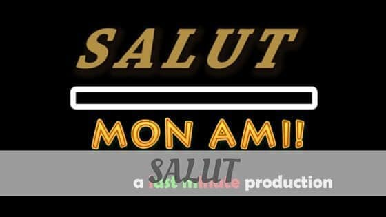 How To Say Salut