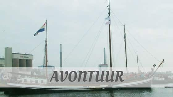 How To Say Avontuur