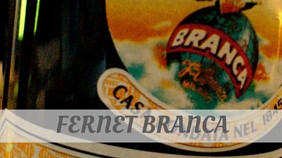 How Do You Pronounce How To Say Fernet Branca?