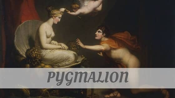 How Do You Pronounce Pygmalion?