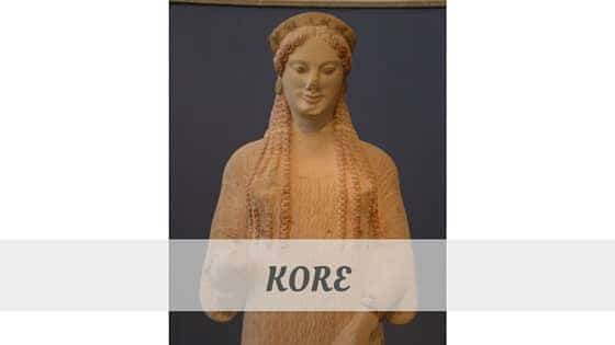 How To Say Kore