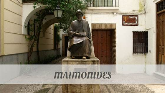 How To Say Maimonides