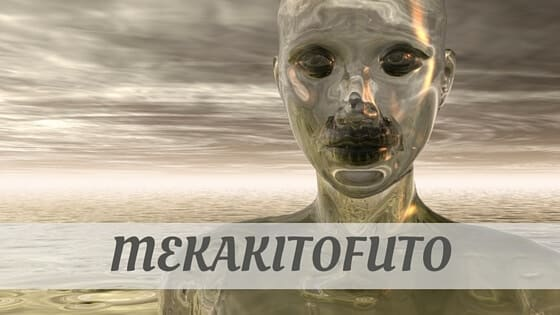 How To Say Mekakitofuto?