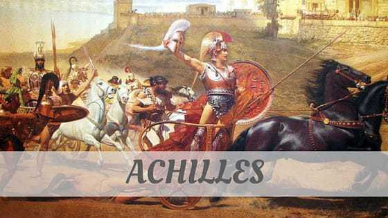 How To Say Achilles?