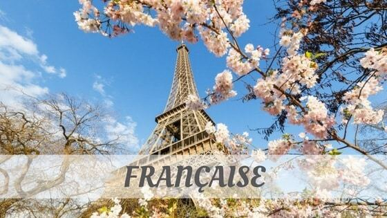 How To Say Francaise