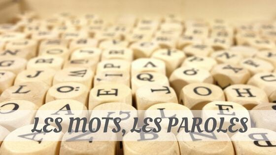 How To Say Les Paroles