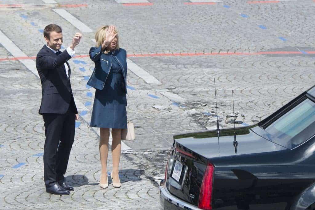 President Macron and Brigitte Macron