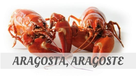 How Do You Pronounce Aragosta, Aragoste?