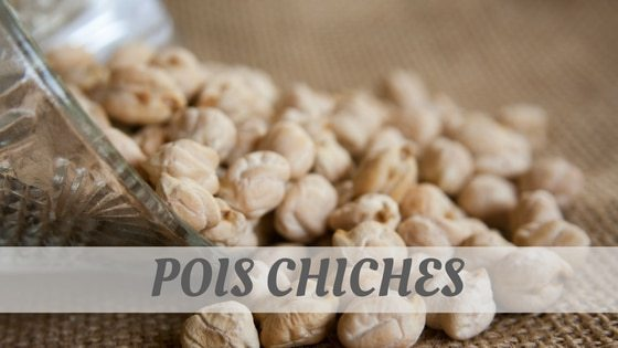 How To Say Pois Chiches?