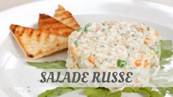 How Do You Pronounce Salade Russe?
