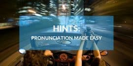 Pronunciation Hints