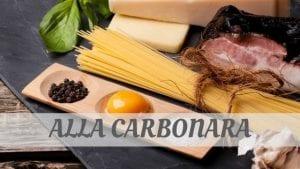 Alla Carbonara