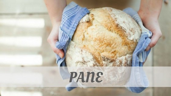 How To Say Pane