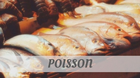 How To Say Poisson?