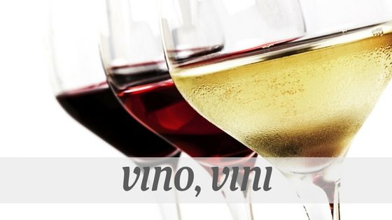 How Do You Pronounce Vino, Vini?