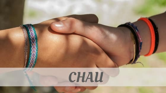 How To Say Chau